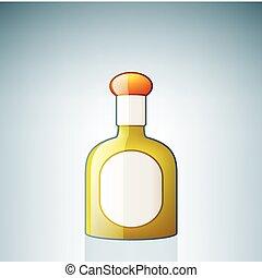 tequila, flaska