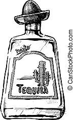 tequila, illustrazione