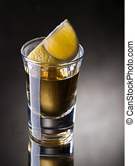 Tequila shot - The dark side of tequila