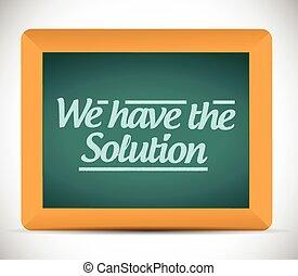 ter, nós, mensagem, solução, ilustração