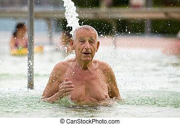 terapia água