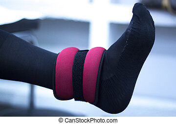 terapia física, joelho, fisioterapia
