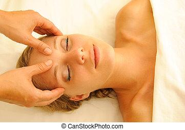 terapia, masaje