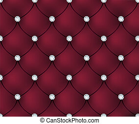 terciopelo, lujo, plano de fondo, rojo