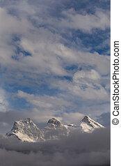 teren górzysty, 2, śnieżny