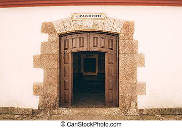 teresa, santa, puerta
