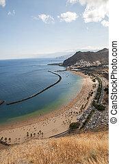 teresitas beach of Tenerife