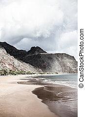 Teresitas Beach, Tenerife, Canary Islands ( HDR image )