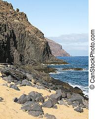 Teresitas beach. Tenerife island, Canaries