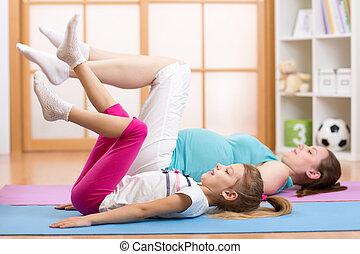 terhes, állóképesség, testedzés, anyu, gyermek, ünnepély
