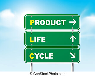 termék, élet, aláír, 3, út, biciklizik