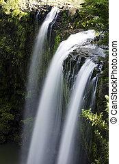 természet, -, vízesés