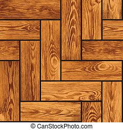 természethű, fából való, -, seamless, struktúra, parketta