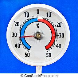 termómetro al aire libre
