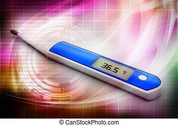 termómetro electrónico
