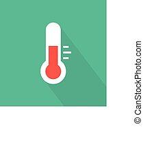 termômetro, ícone