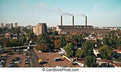 Termal Power Plant in Kiev City - Termal power plant in Kiev...