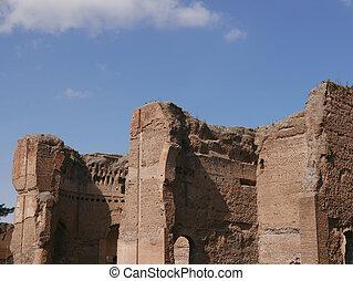 Terme di Caracalla ancient Roman Ruins in Rome