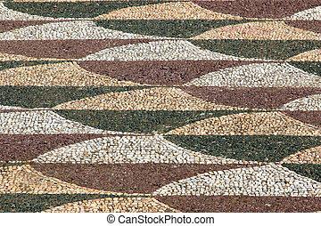 Terme di Caracalla - floor detail