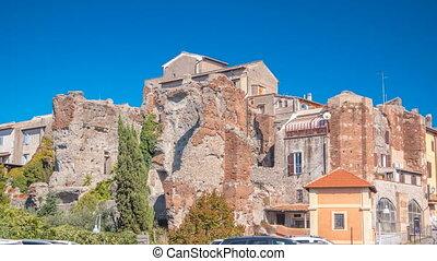 Terme di Caracalla in beautiful town of Albano Laziale...