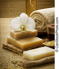 terme, fatto mano, naturale, sapone