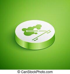 terme, icona, verde, procedura, aromatherapy., bianco, ...