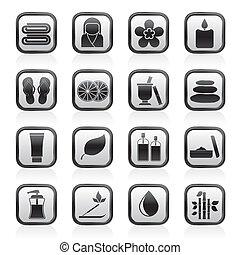 terme, oggetti, icone