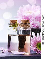 terme, oil., essenziale, aromatherapy