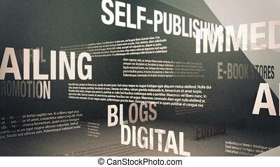 termes, apparenté, self-publishing
