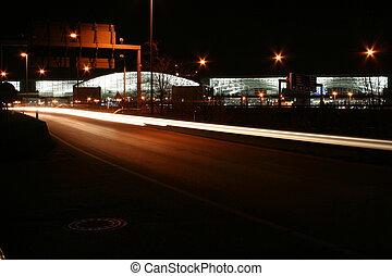 Terminal 2 by night