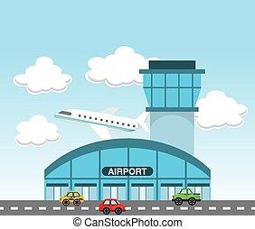 terminal, aeroporto