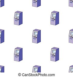 Terminal, ATM for receiving cash. Terminals single icon in cartoon style isometric vector symbol stock illustration web.