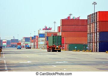 terminal, behälter