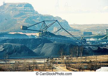 terminal, charbon