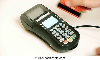 terminal, crédit, -, hd, carte