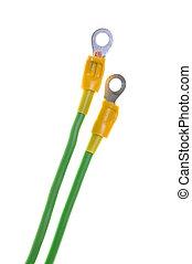 terminal, elektrisches kabel