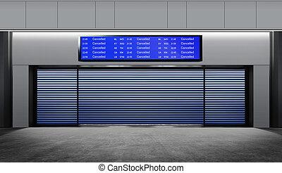 terminal in airport