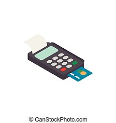 terminal, kredyt, pos, karta, ikona