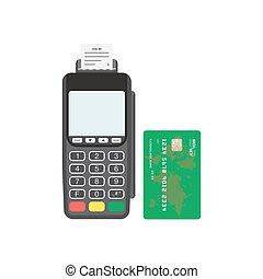 karte terminal kredit zahlungen soll gebrauchend blaues wohnung begriff nfc card. Black Bedroom Furniture Sets. Home Design Ideas