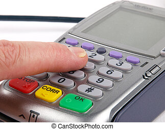 terminal, paiement