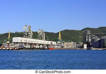 terminal, port maritime