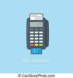 terminal, pos
