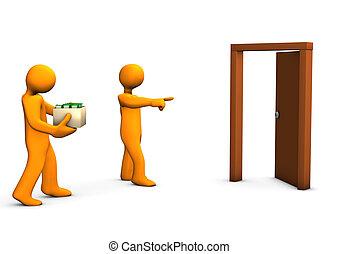 Termination - One orange cartoon was dismissed without...
