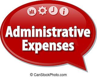 termine, affari, bolla, illustrazione, spese, discorso, ...