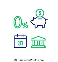 termo, financeiro, ativo, mensal, dinheiro, pagamento,...