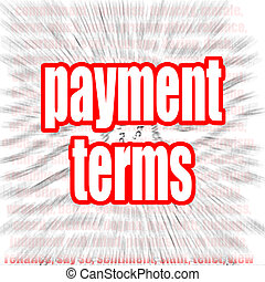termos, palavra, pagamento, nuvem