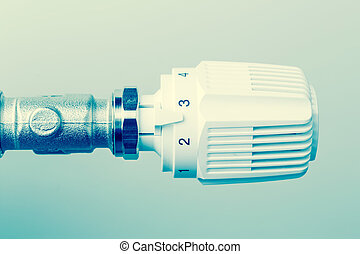 termostato, calefacción