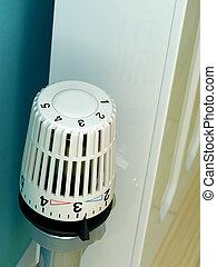 termostato, radiador