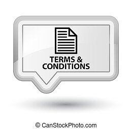 Terms and conditions (page icon) prime white banner button