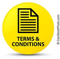 Terms and conditions (page icon) yellow round button